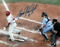 Howie Kendrick Signed Autographed 8X10 Photo Angels Dropping Bat at Plate COA