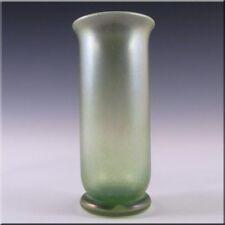 Isle of Wight Studio/Harris Green Glass Vase - Labelled