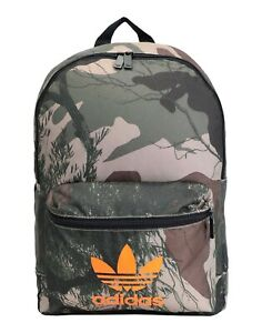 ADIDAS 'Camouflage Classic Sport Backpack' Unisex Nylon Bag Camo Green **NWT**