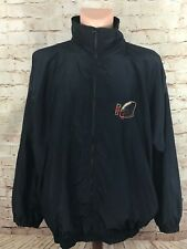 Vintage FILA Made In Italy USA Football Embroidered Windbreaker Mens size XL