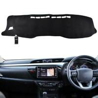 For Toyota Hilux SR5 4x4 REVO 2016- 2018 Dash Mat Dashmat Dashboard Cover Carpet