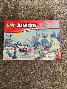 Lego Juniors Disney Frozen 10736 Anna & Elsa's Frozen Playground NEW SEALED