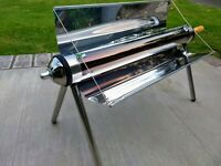 Evacuated Tube Portable Solar Oven with Carrying Case