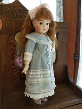 Bru Jne All Bisque - 20 Inch Reproduction Doll