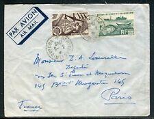Saint Pierre et Miquelon - Enveloppe pour Paris en 1949 - ref D155