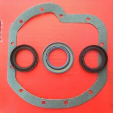 MGB rear axle seal set (3 seals, 1 gasket) for Salisbury/Tube type axles .
