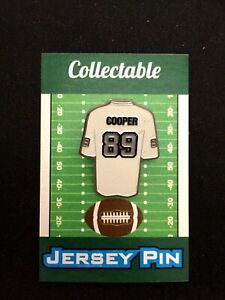 Oakland Raiders Amari Cooper jersey lapel pin-Collectible-For caps & shirts