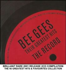 Bee Gees Very Best 40 Greatest Hits Collection RARE 60's 70's 80's Pop Disco 2CD