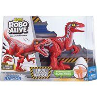 Zuru Robo Vivo Raptor Rojo - 38329 Reptil Predator Aterrador Jurásico Parque