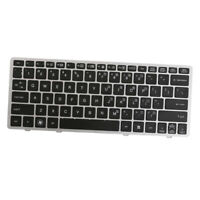 Laptop Keyboard US Layout Quiet Full Fingerboard for HP Elitebook 2570 2570P