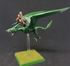 LIZARDMEN Tiktaq'to Master of Skies Terradon painted metal model SCARCE OOP