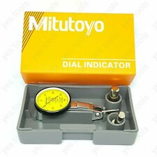 Mitutoyo Dial Test Indicator 0-0.8mm Mini DTI Precision Clock Gauge NO.513 - 404