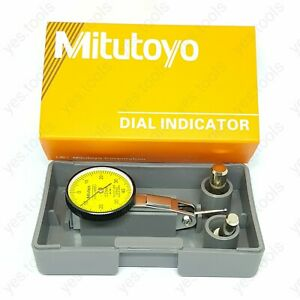 Mitutoyo Dial Test Indicator 0-0.8mm Mini DTI Precision Clock Gauge NO.513 - 404