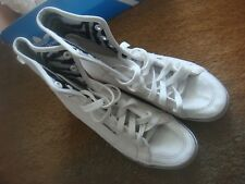 Ladies Womens adidas Honey Hi White Hi Top Trainers VGC Size 6