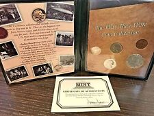 First Commemorative Mint 90% Silver The Way They Were Coin Collection