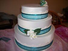 CUSTOM MADE 3 TIER WEDDING CAKE CARD BOX!-YOUR COLORS & FLOWERS!
