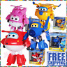 Super Wings Airplane Transforming Vehicle Robot Animation Bot Figure Fun Kid Toy