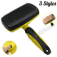 Pet Hair Brush Dog Cat Comb Grooming Remover Massage Deshedding / Pair Gloves