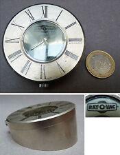 Pendulette de bureau SINDACO Swiss made Publicitaire RAY-O-VAC pendule clock