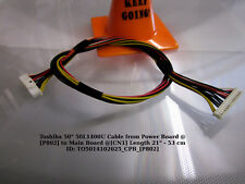"""Toshiba 50"""" 50L1400U Cable from Power Board @[P802] to Main Board @[CN1] Length"""