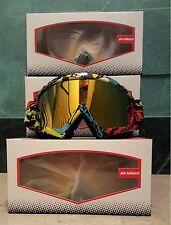 occhiali mascherina moto cross, enduro, sci, fox