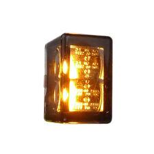 Dos motocicletas micro LED montaje intermitentes Cube V con e marca grabada para atrás
