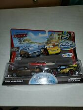 Disney Pixar Cars 2 Color Changers finn & Lightning McQueen Toys R Us Collector