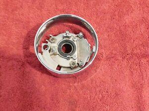 1958 1959 1960 Ford Thunderbird ORIG CHROME STEERING COLUMN SHIFT COLLAR FLANGE