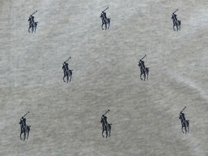 Polo RALPH LAUREN Jogger Men's Allover Icon Polo Pony Player Knit Lounge Pant
