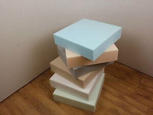 UPHOLSTERY FOAM CUSHION SHEETS - high, medium, low density