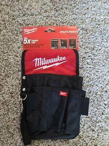 Milwaukee* 48-22-8119 Utility Pockets 8 Exterior pockets & 1 deep center pocket