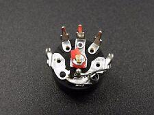 10pcs 50K ohm RV12 Bent Feet Rotary Switch Radio Potentiometer 503 B503 New