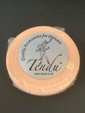 Pink Satin Ballet Pointe Shoe Ribbon (Tendu) 25mm Wide 50M Roll