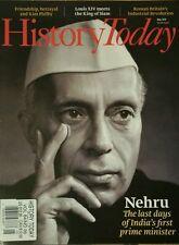 History Today UK Nehru Louis XIV Kim Philby Roman Britain May 2014 FREE SHIPPING