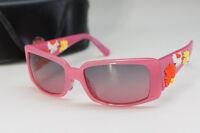 Auth Salvatore Ferragamo Sunglasses Pink Flower w/case Free Shipping _IT 662f03