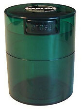 .29 Liter Tightvac Airtight Smell Proof Vacuum Sealed Container Emerald Green