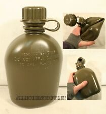NEW US Military Army 1 Quart PLASTIC COLLAPSIBLE OD CANTEEN 1QT BPA Free
