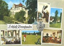 """AK, Hommerich, Hotel """"Schloß Georghausen"""", 6 Abb., 1969"""