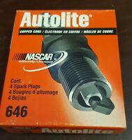 Pack of 4 - Autolite Spark Plugs - 646