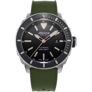 Alpina Seastrong Diver Men's Automatic Caliber 44mm Watch AL-525LGG4V6