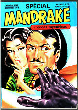 SPECIAL MANDRAKE n°9 # MONDES MYSTERIEUX # 1977 REMPARTS