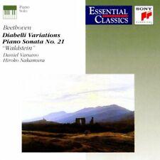 BEETHOVEN DIABELLI VARIATIONS & PIANO SONATA No.21 WALDSTEIN CD VARSANO NAKAMURA