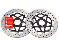 2x Brembo Serie ORO 320mm Front Brake Discs KTM 1290 Super Duke GT, R - 78B408B1