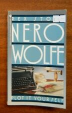 Nero Wolfe Ser.: Plot It Yourself by Rex Stout (1989, Mass Market)