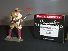 King and Country rta68 ALAMO Antonio Fuentes in metallo giocattolo Soldato Figura