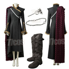 Grade Game of Thrones Daenerys Mother of Dragons Cosplay Costume  Halloween