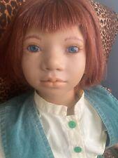 """Annette Himstedt 30"""" Puppen Kinder Doll 1994/95-Melvin In Box"""