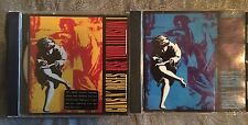 Guns 'N' Roses Use Your Illusion I & II Rare Gold Picture Discs From Australia