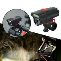 Waterproof AAA Battery Bike Front Head ights Cycling Bicycle LED Lamp Flashlight