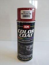 Sem 15113 Firethorn red vinyl restoration auto body shop car paint color coat